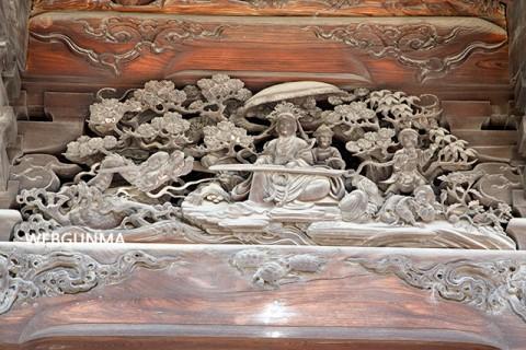 飯玉縁起の彫刻