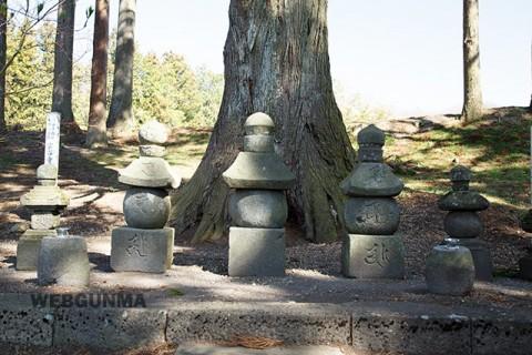 五輪塔-新田義宗の墓
