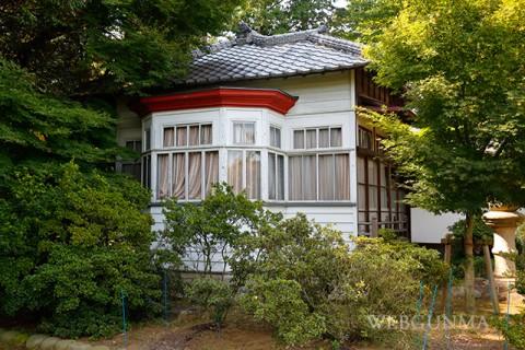 昭和初期増築された洋館