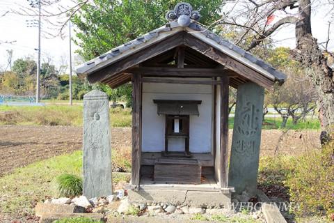 葵八幡の板碑