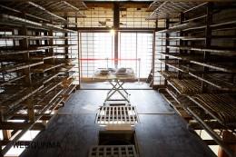 高山社跡「蚕室2階」