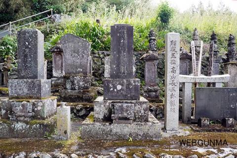 高山長五郎の墓