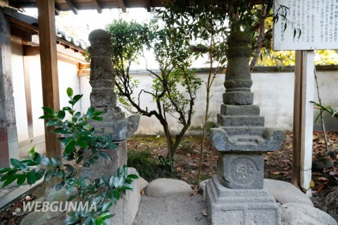 郷原自性寺の宝篋印塔