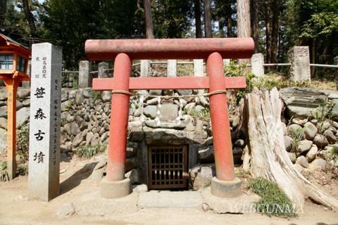 笹森古墳 横穴式石室