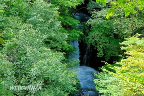 小泉の滝(中之条町)