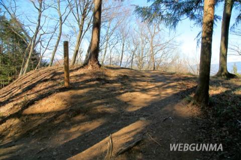 岩櫃城二の丸跡