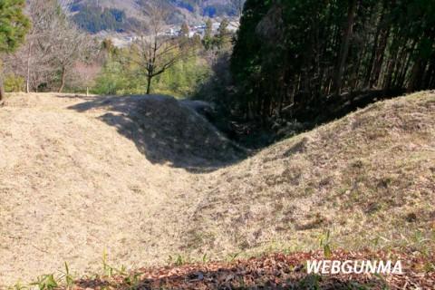 岩櫃城竪堀