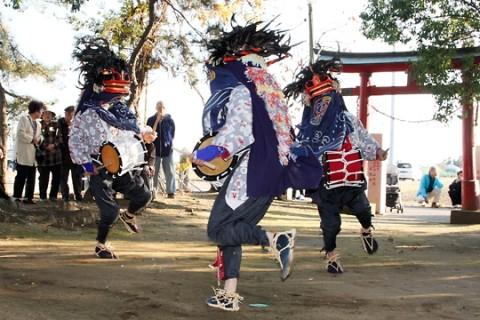 東新井の獅子舞 伊勢崎市指定重要無形文化財