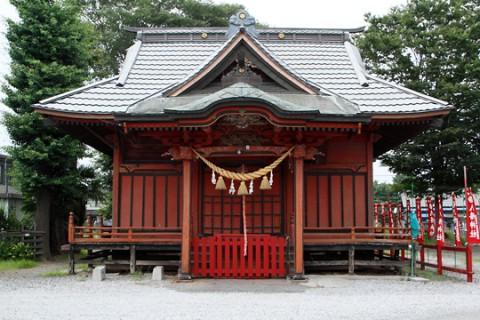 柴町八幡神社拝殿