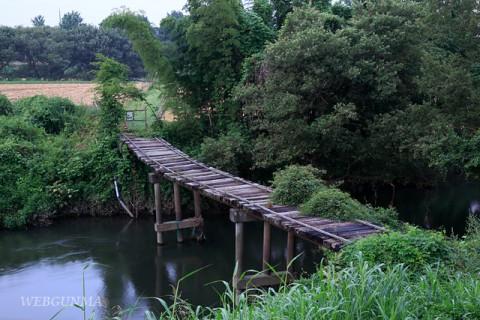 群馬県邑楽郡板倉町の沈下橋