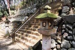 小幡八幡宮の石垣