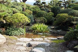 松浦家屋敷の庭園