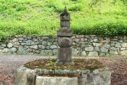 小幡藩初代藩主 織田信良の墓