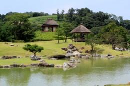 昆明池と梅の茶屋・腰掛茶屋