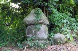 後閑の五輪塔(桐生市指定重要文化財)