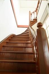 桐生明治館(旧群馬県衛生所)階段