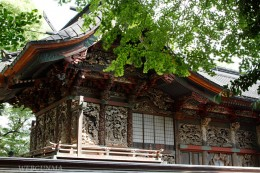 群馬県指定重要文化財「桐生天満宮社殿」