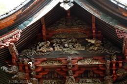 桐生天満宮社殿彫刻