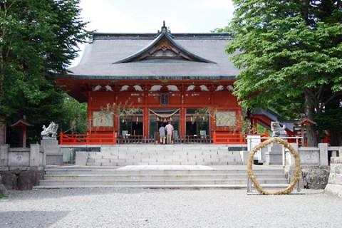 赤城神社元宮(赤城山)