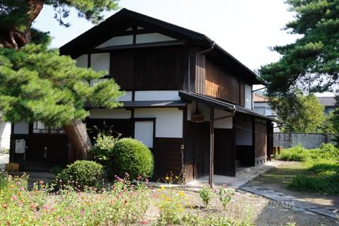 今泉嘉一郎生家の主屋