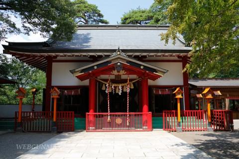 群馬県・貴船神社拝殿