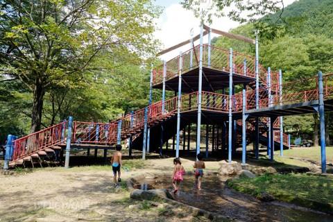 小平親水公園コンビネーション遊具