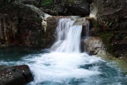 中之条町 黄金の滝 滝つぼ
