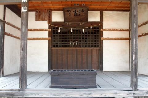 大和神社(行者堂)のお堂