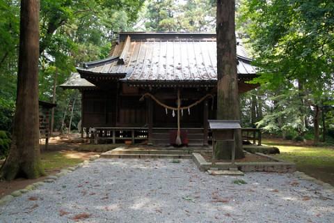 生品神社拝殿