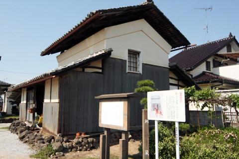 銅山街道(あかがね街道) 亀岡の銅蔵