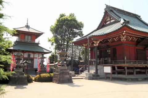 明王院境内(新田荘遺跡)