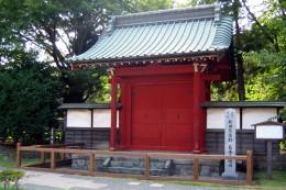 長楽寺 勅使門