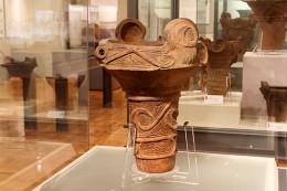 渋川市北橘歴史資料館展示の土器