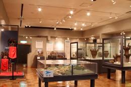 渋川市北橘歴史資料館 常設展示室