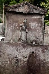 一石造地蔵菩薩像
