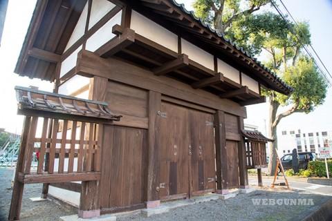 吉井藩陣屋表門