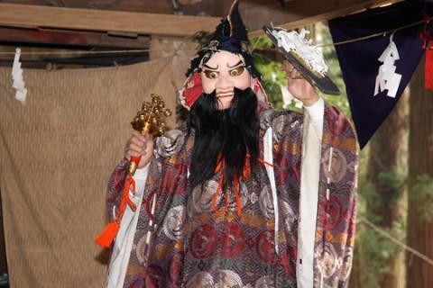 三島神社太々神楽