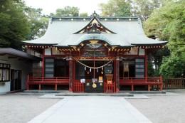 玉村八幡宮拝殿