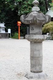 承応元年の石燈篭