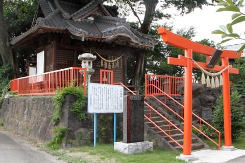 川井城跡 八千矛神社