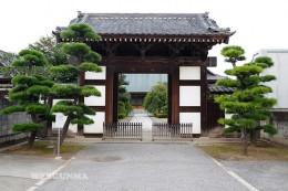 五宝寺の山門