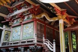 富岡市指定重要文化財の菅原神社本殿