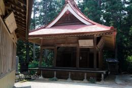菅原神社の神楽殿(舞殿)